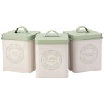 The English Tableware Company - Edale - Set of 3 Storage Tins