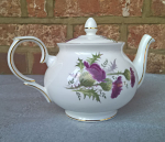 Duchess China Highland Beauty Thistle Teapot (Small Size) 2 cup