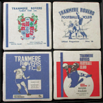 Tranmere Rovers Football Club Vintage Coasters