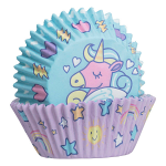 Mason Cash Unicorn Cupcake Cases and Toppers Set of 48