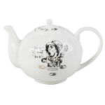 V & A - Alice In Wonderland Large Teapot - Boxed
