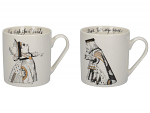 V & A - Alice in Wonderland Mugs His & Hers 350ml Set of 2 - Boxed