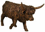 Frith Sculpture - Highland Cow Walking