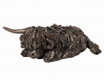 Frith Sculpture - Morag - Lying Highland Cow - Miniature