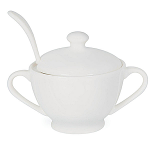 W M Bartleet & Sons Sugar Bowl with Spoon