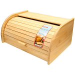 Monsoon - Wooden Roll Top Bread Bin