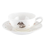Royal Worcester Wrendale Designs - Cup & Saucer Small - Rabbit
