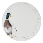 Royal Worcester Wrendale Designs - Coupe Dinner Plate 26.7cm / 10.5 inch - Duck