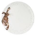 Royal Worcester Wrendale Designs - Coupe Dinner Plate 26.7cm / 10.5 inch - Hare