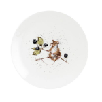 Royal Worcester Wrendale Designs - Coupe Side Plate 20cm / 8 inch - Mouse