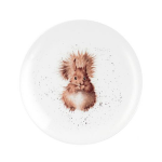 Royal Worcester Wrendale Designs - Coupe Side Plate 20cm / 8 inch - Squirrel