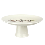 Royal Worcester Wrendale Designs - Footed Cake Plate One Snowy Day