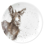 Royal Worcester Wrendale Designs - Coupe Plate 16.5cm 6.5in - Donkey