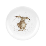 Royal Worcester Wrendale Designs - Coupe Side Plate 20cm / 8 inch - Hare