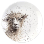 Royal Worcester Wrendale Designs - Coupe Plate 16.5cm 6.5inch - Sheep