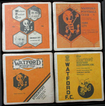 Watford Football Club Vintage Coasters