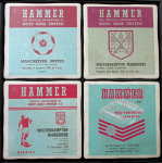 West Ham United Football Club Vintage Coasters