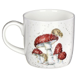 Royal Worcester Wrendale Designs - Mug - 'He's a Fungi' Mouse & Toadstool