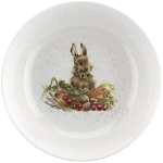 Royal Worcester Wrendale Designs - Salad Bowl 25.5cm 10in - Rabbit