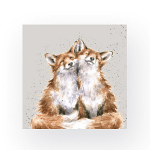 Wrendale Designs - Napkins - Cocktail - Contentment Foxes