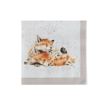 Wrendale Designs - Napkins - Cocktail - Afternoon Nap Fox