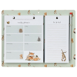 Wrendale Designs - Green Magnetic Weekly Planner and To Do List