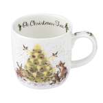 Royal Worcester Wrendale Designs - Mug - Oh Christmas Tree