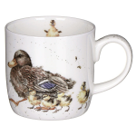 Royal Worcester Wrendale Designs - Mug - Room For a Small One - Ducks