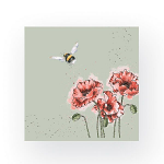 Wrendale Designs - Napkins - Luncheon - Flight of the Bumble Bee