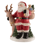 Aynsley Santa & Reindeer Small