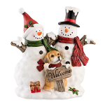 Aynsley Welcome Snowmen Figurine