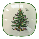 Spode Christmas Tree - Christmas Tree Sculpted Dish Square 14cm 5.5inch