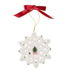 Spode Christmas Tree - Decoration - Snowflake
