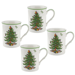 Spode Christmas Tree - Mug 12oz - Set of 4