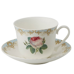 Roy Kirkham Vintage Roses Chatsworth Breakfast Cup & Saucer