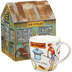At Your Leisure - The Cyclist Mug in Giftbox