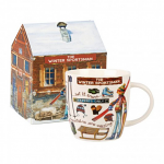 At Your Leisure - The Winter Sportsman Mug in Giftbox