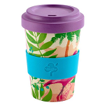 Arthur Price Bamboo Range Travel Cup Mug 16oz 550ml - Flamingo