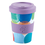 Arthur Price Bamboo Range Travel Cup Mug 16oz 550ml - Kaleidoscope