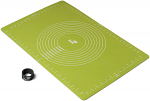 Zeal Pastry Rolling Mat Silicone Lime