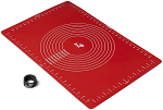 Zeal Pastry Rolling Mat Silicone Red