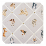 Wrendale Designs - Fabric Noticeboard A Dogs Life