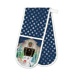 Michel Design Works - Christmas Snow Double Oven Gloves