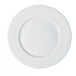 Duchess China White - Plate Luncheon 24cm