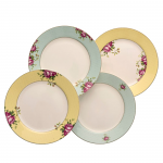 Aynsley Archive Rose Side Plates Set of 4