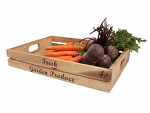 T&G Woodware - Baroque Large Crate - Fresh Garden Produce