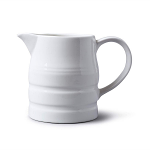 W M Bartleet & Sons Churn Jug 2 Pint White