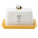 Bee Happy -  Butter Dish
