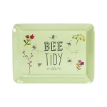 Bee Happy -  Melamine Scatter Tray Green - Bee Tidy