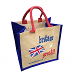 Jute Shopping Bag - Britain is Great